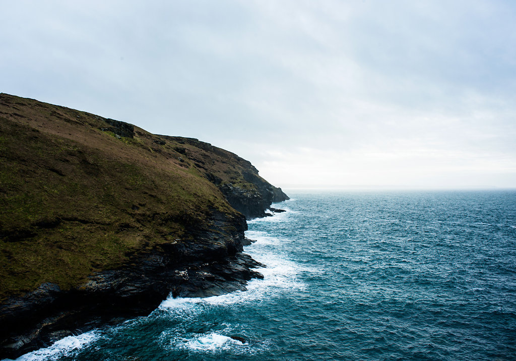 Atlantic Sea from Tintagel