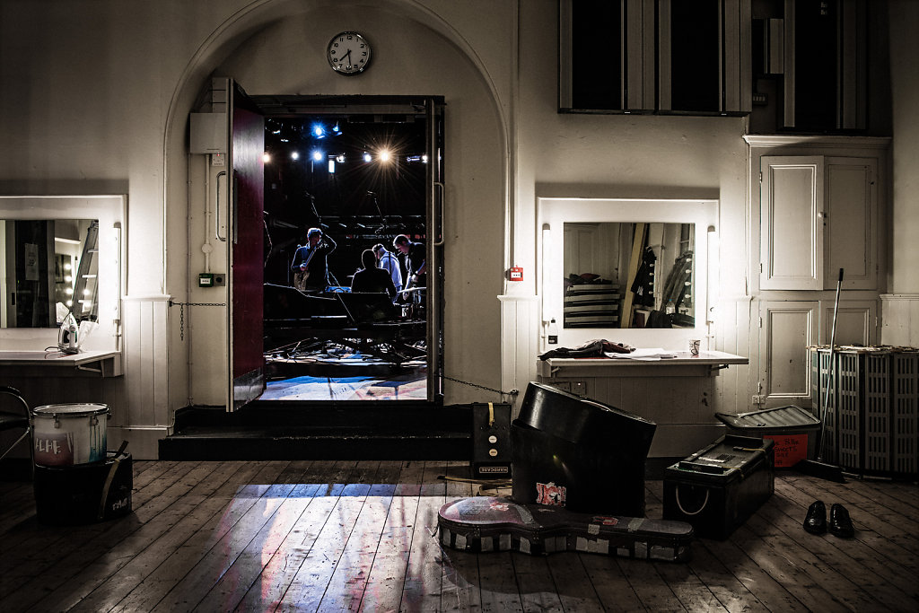 Backstage, Derry/ Londonderry Playhouse for Zoom Zoom Magazine