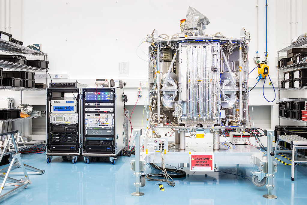 The Clean Room, Surrey Satellite Technology, Guildford