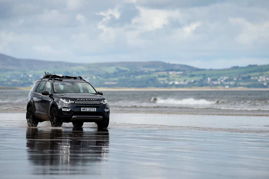 Land Rover Discovery Sport, Benone Beach, Northern Ireland