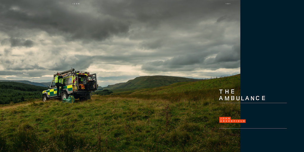 John Greenfield for the official Land Rover book, 'Icon'